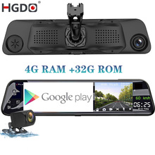 Car-Dvr-Camera Video-Recorder Dash-Cam Rear-View-Mirror Android HGDO Registrar ADAS 4