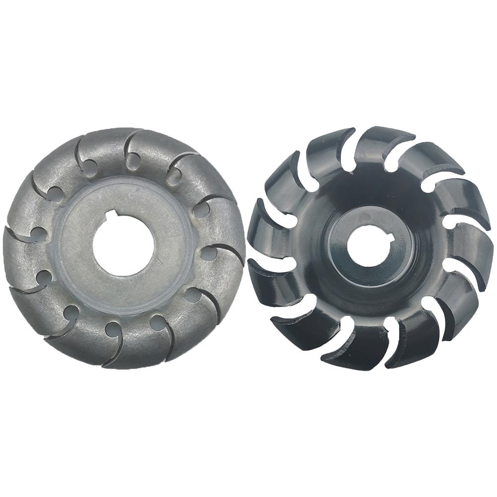 New Wood Carving Disc High Hardness Angle Grinder Accessories 12 Teeth 16mm Wood Shaping Wood Carving Disc Woodworking Tools