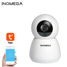 INQMEGA 1080P Mini Camera Indoor Video Surveillance Camera House Day Night Vision TUYA Clear Two-way Audio WIFI Camera