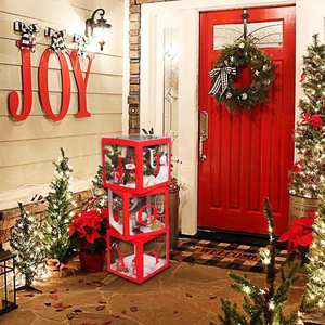 Doll-Box Ornaments Christmas-Decorations Xmas Noel Natal New-Year-Gifts Home for Toy