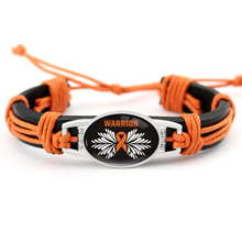 Leukemia ADHD Skin Cancer Breast Awareness Bracelets Orange Ribbon Paracord Charm  Men Women Unisex Jewelry