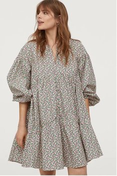 Summer dress 2020 A line Floral cotton zaraing women Dress sheining vadiming female streetwear sexy vintage plus size A9714 1