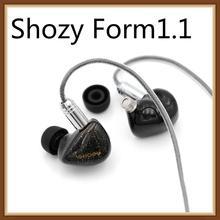 2019 Shozy Form1.1 1BA+1DD Dual Driver Hybrid Beryllium Dynamic Hifi Music Monitor In-ear Earphones