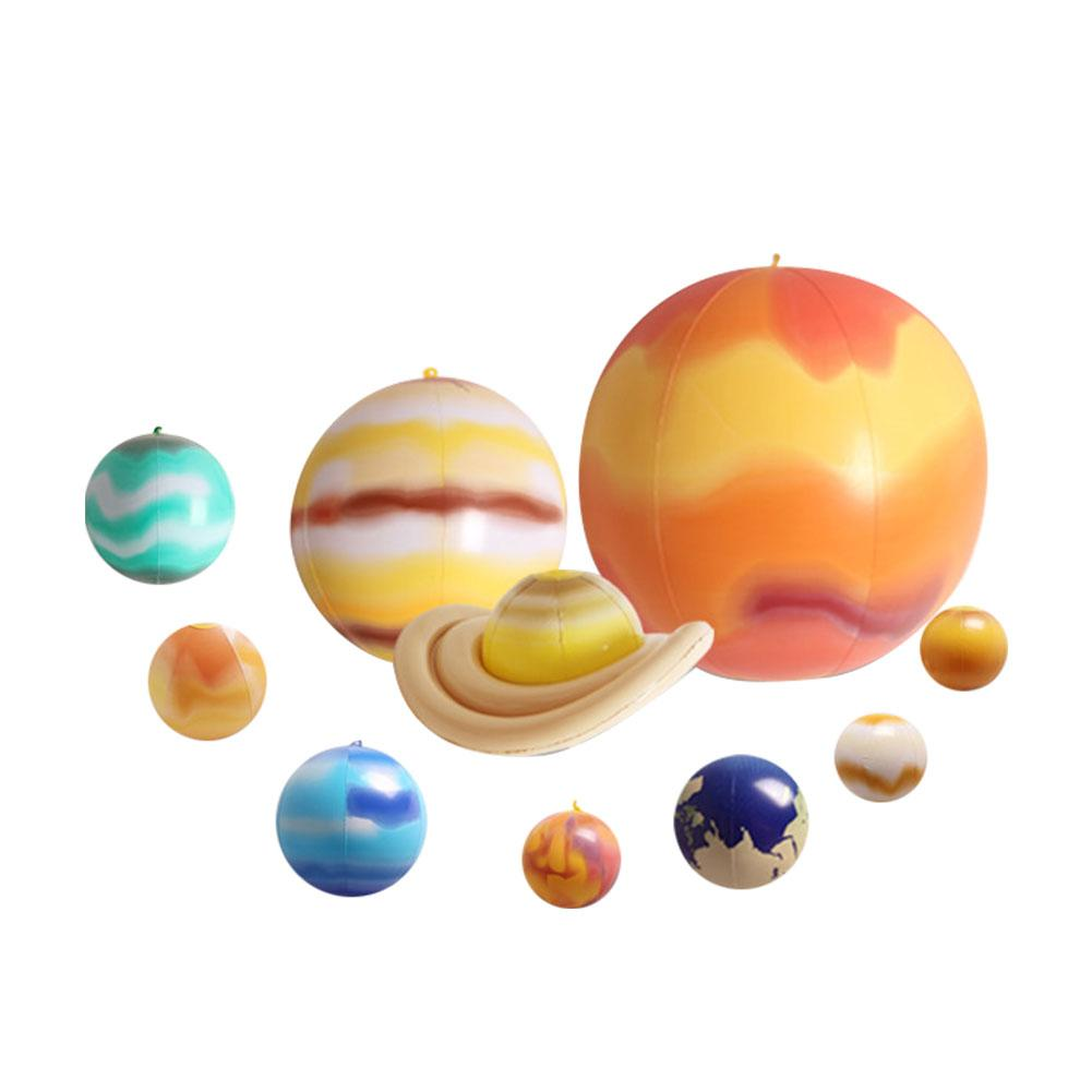 Inflatable Ball Nine Planets Solar System Earth Eight Planets Teaching Toys Children Novelty Funny Toy Pendant Model Pendant