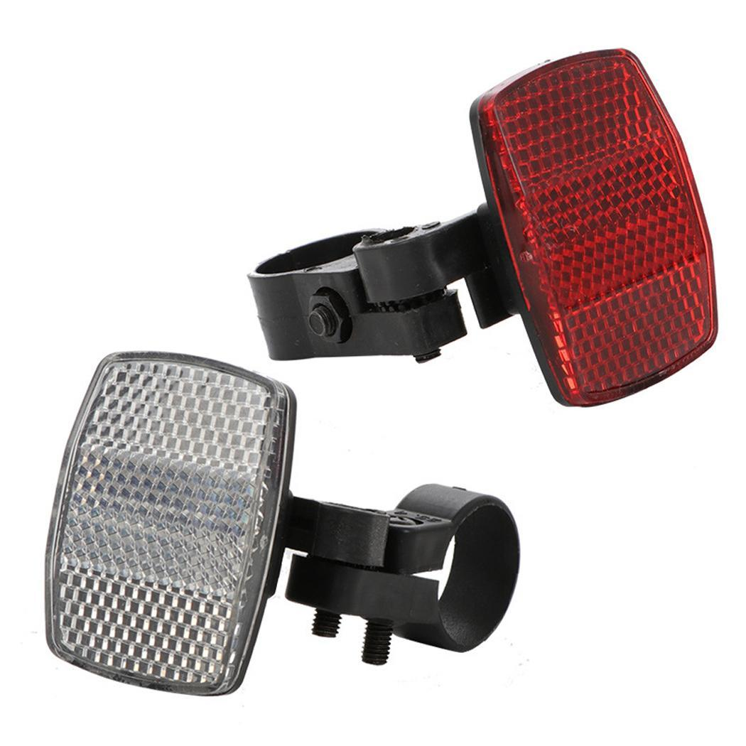 Road cycle bike bicycle reflector light reflective strips stick front rear tools lights reflectors