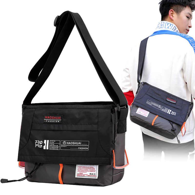 Travel Nylon Single Shoulder Bag Messenger Bag Tote Bag Crossbody Handbag