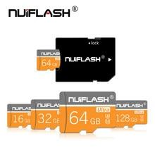 Micro sd 32gb sdcard para o adaptador livre do smartphone/câmera cartão de memória do flash da classe 10 do cartão 8gb 16gb 64gb de alta velocidade micro sd