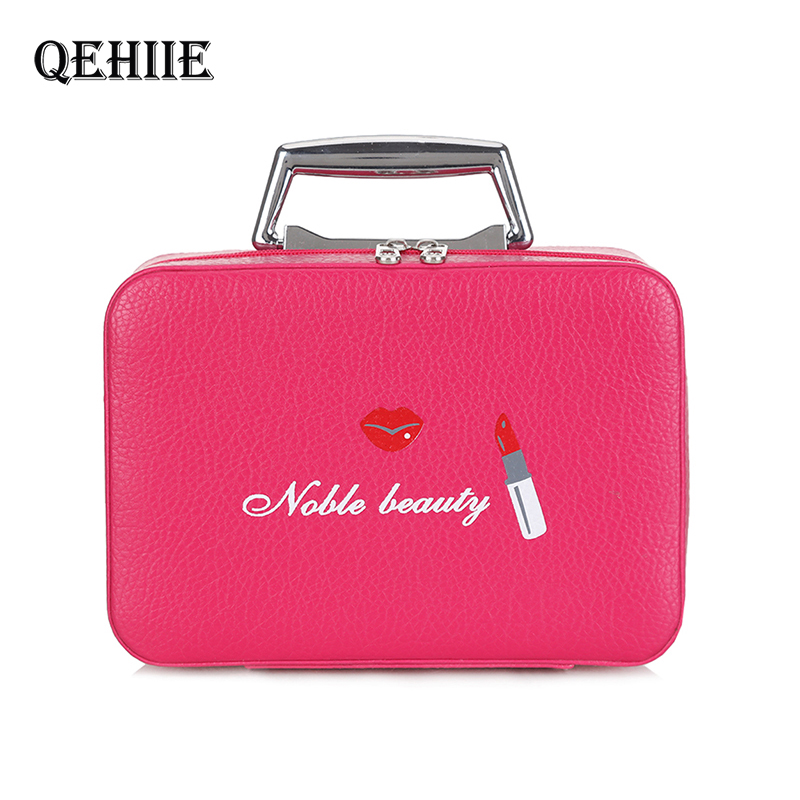 Cosmetic-Case Make-Up-Bags Beauty-Box Travel-Organizer Large-Capacity Waterproof Fashion
