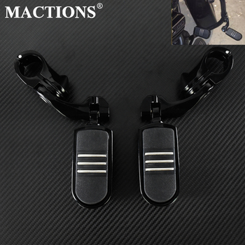 1 1/4 Engine Guard Highway Foot Pegs Footrest Short Angled Mounts For Harley Sportster XL 883 1200 Touring Softail Slim FLS for harley sportster xl models 883 xl883 xl1200 touring road king street highway adjustable clamps footrest footpeg foot pegs