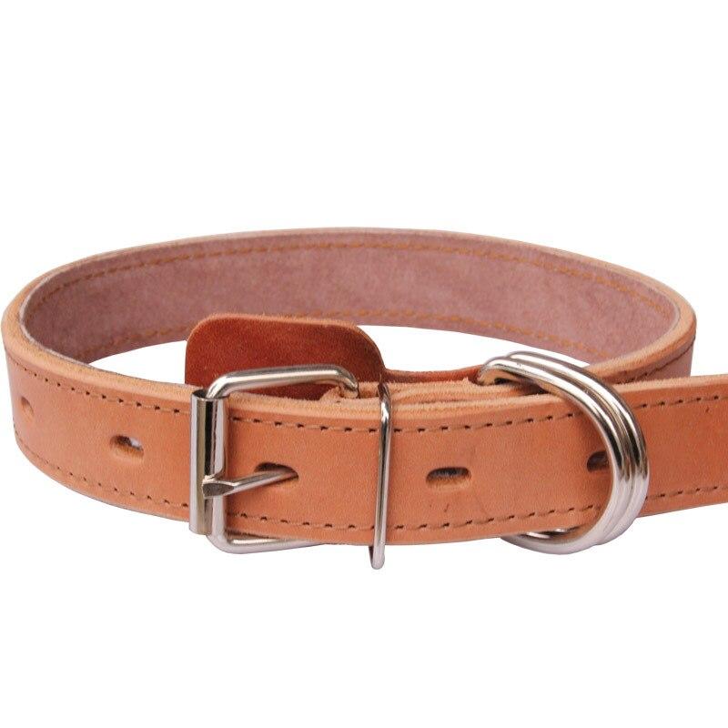 Cattle Hide Pet Collar Dog Collar Pet Bandana Dog Neck Ring Pet Collar Genuine Leather Small