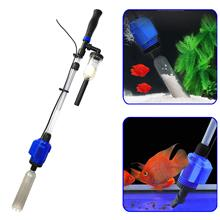 3 in 1 Electric Aquarium Vacuum Gravel Cleaner Automatic Water Changer Sludge Extractor Sand Washer Water Filter for Fish Tank