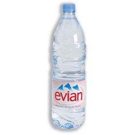 Bouteilles Plastiques Evian 1,5Litre S2000