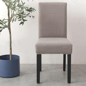Image 3 - סופר רך קוטב צמר בד כיסוי כיסא אלסטי כיסא מכסה ספנדקס לחדר אוכל/חתונה/מטבח/מלון מסיבת משתה