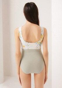Image 4 - Màu Hồng In Hình Váy Múa Leotards Nữ 2020 Hàng Mới Về Mùa Hè Thể Dục Dụng Cụ Nhảy Múa Trang Phục Người Lớn Cao Cấp Ba Lê Leotard