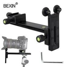Support de téléobjectif L200, accessoires de support de téléobjectif, adaptateur de montage dobjectif long, piste coulissante pour appareil photo dslr, trépied à rotule