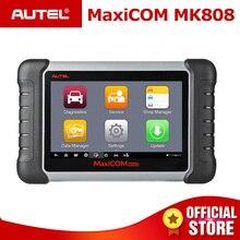 Autel MaxiCOM MK808 OBD2 tarayıcı yağ sıfırlama, EPB, BMS, SAS, DPF, TPMS, anahtar programlama (MD802 + MaxiCheck Pro) PK MX808
