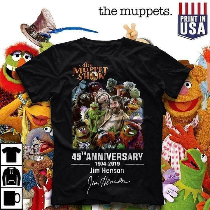 The Snowths And Mahna Mahna The Muppet Show T Shirt Black Cotton Men S-6XL