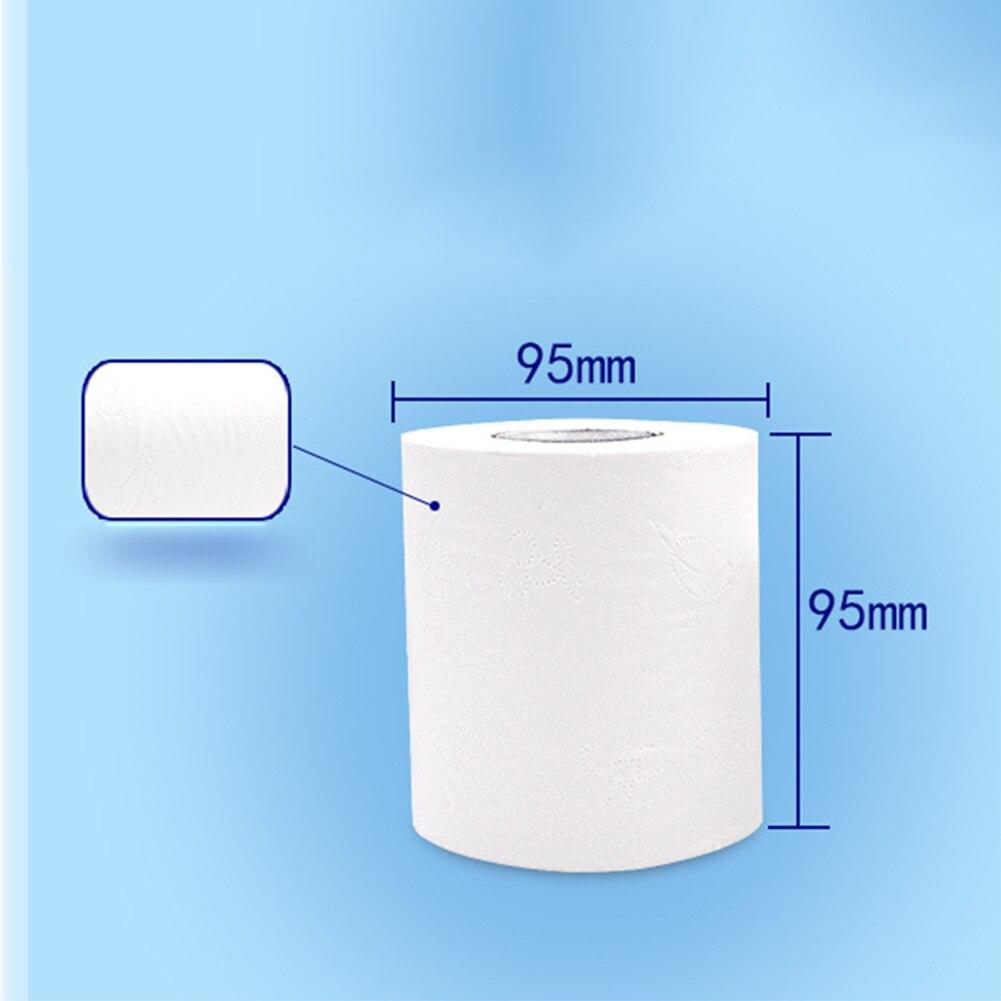 casa papel higiénico de 4 dobras macio