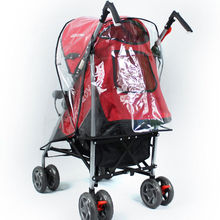 2020 Brand New Baby Stroller Raincover Universal Pushchair Pram Buggy Rain Cover Transparent Rain Cover