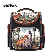 цена на Children Backpack School Bags For Boys 3d Dinosaur Orthopedic Backpacks Primary Schoolbag Boy Cartoon Knapsack Mochila Escolar
