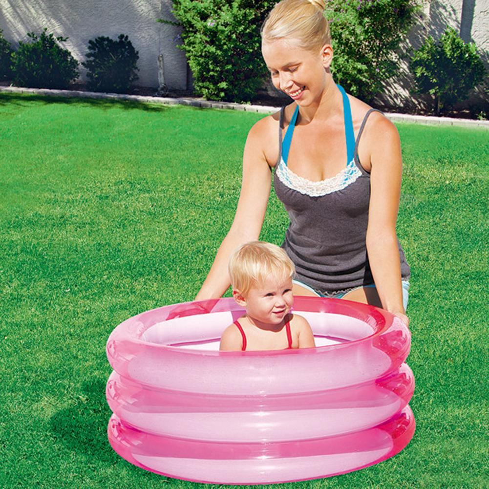 Summer Inflatable Baby Swimming Pool Portable Outdoor Children Basin Bathtub Kids Pool Baby Swimming Pool Water