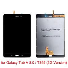 For Galaxy Tab A 8.0 / T355 LCD Screen and Digitizer Full Assembly for Galaxy Tab A 8.0 / T355 (3G Version)