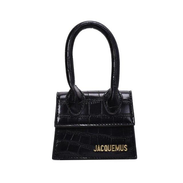 Jacquemus mini bolsas e bolsas femininas 2021 bolsa crossbody famosa marca de ombro saco de mão designer luxo crocodilo padrão 6