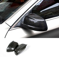 F10 3M car styling Side Wing Rearview Mirror Cover Caps for BMW F10 Sedan 11 13 Carbon Fiber