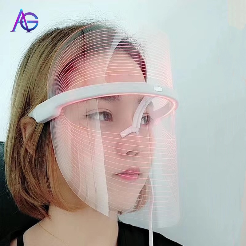 Adg New Invention Rgb Lamp Face Mask Led Grow Light Beauty Instrument Pdt Beauty Salon Households Spa