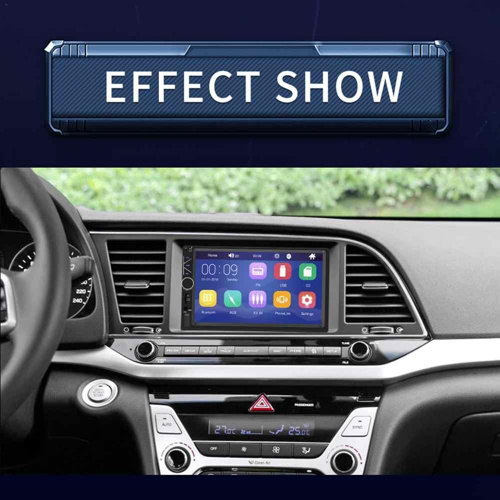 2 Din samochodowe multimedia odtwarzacz ekran dotykowy Stereo samochodowy Bluetooth radio fm MP5 odtwarzacz obsługuje na telefon z systemem android lustro połączenia