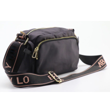 Famous designer black bag shoulder crossbody women leather
