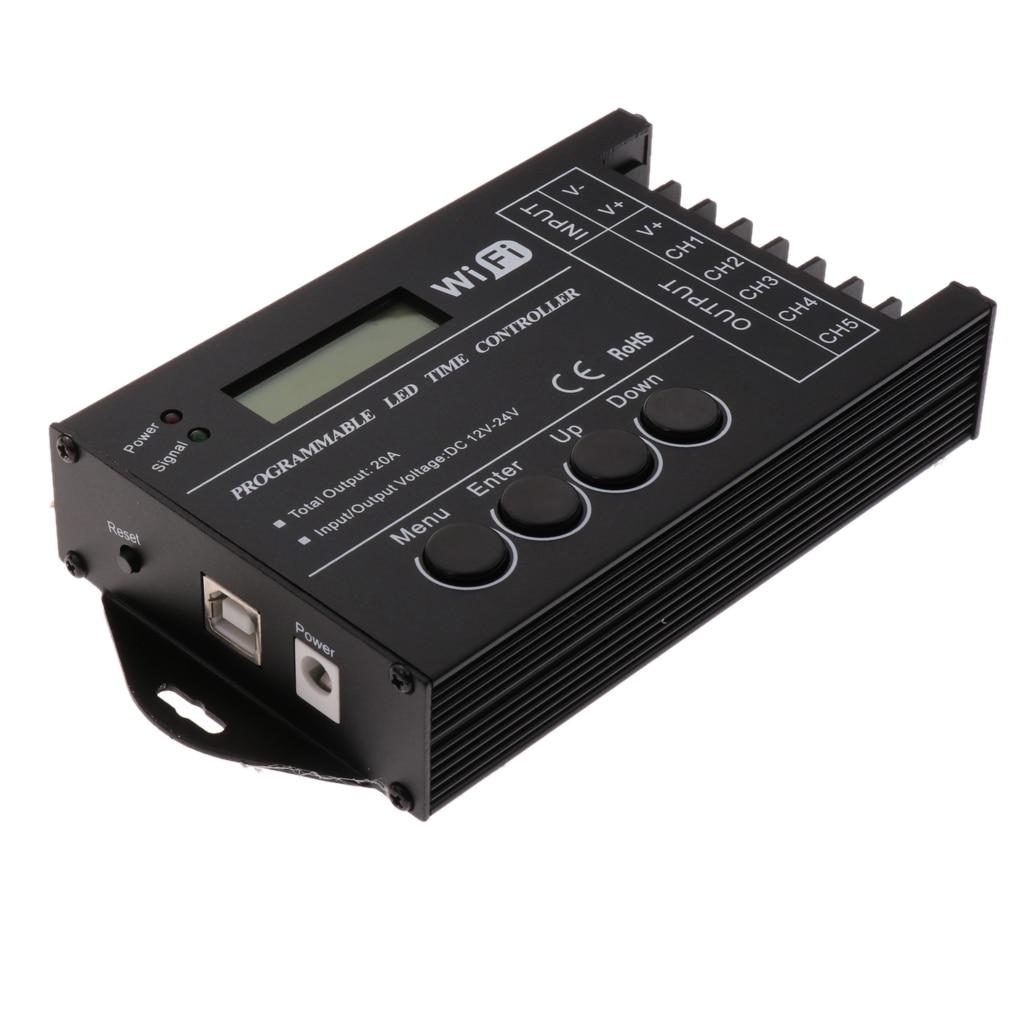 Controlador LED programable para agua, temporizador inteligente, WiFi, TC421