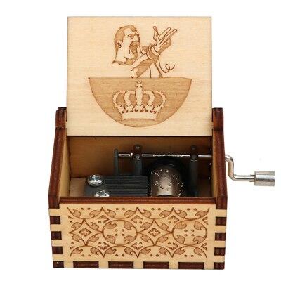 VIP3 деревянный ящик - Цвет: Queen04
