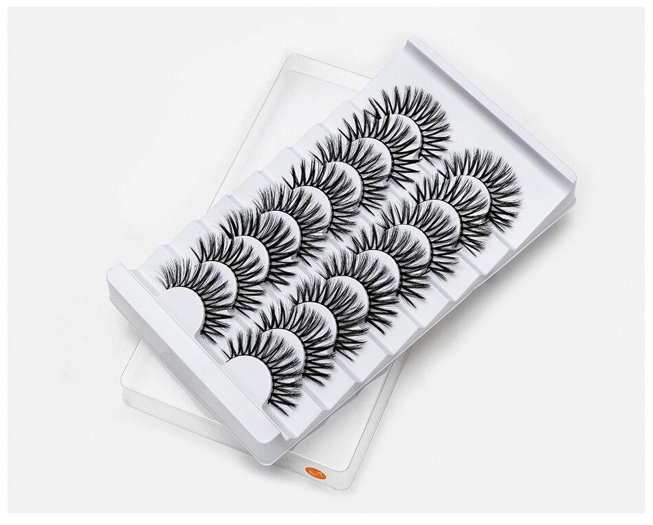 15-20mm Natural 3D False Eyelashes