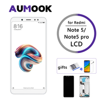 Calidad superior de 5 99 pulgadas para XIAOMI Redmi note 5 visualización pantalla táctil para MI Redmi note 5 pro LCD + reemplazo de Marco|Pantallas LCD para teléfonos móviles| |  -