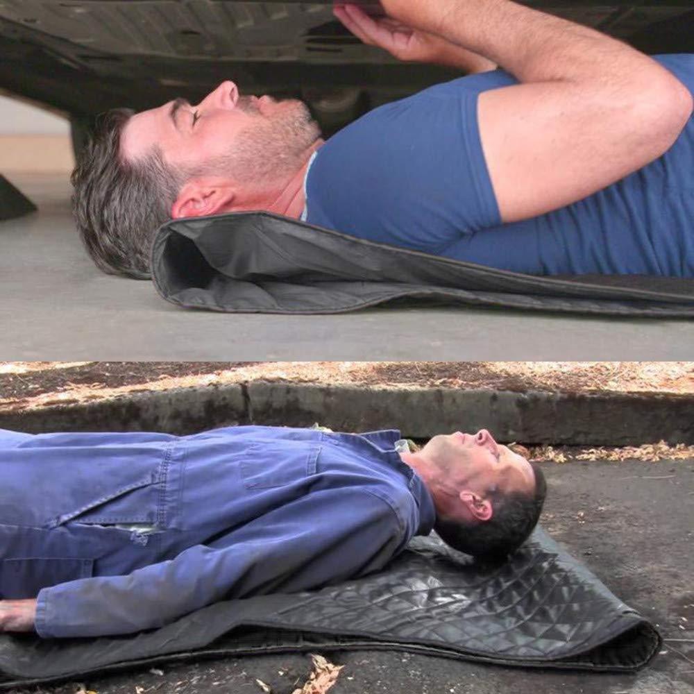 Car Repair Mat Car Carpet Rolling Mat Portable Repair Tool