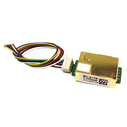 1PCS Carbon Dioxide Sensor Module MH-Z19 Infrared Co2 Sensor For Co2 Monitor MH-Z19B