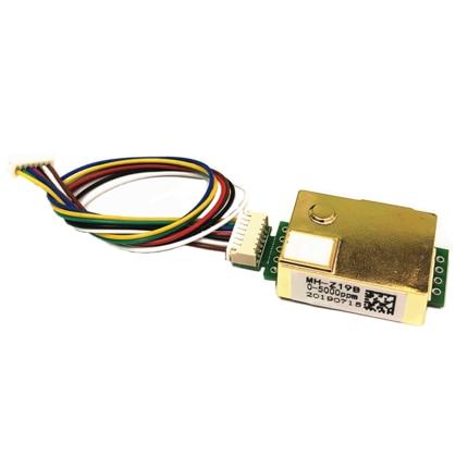 1PCS Carbon Dioxide Sensor Module MH-Z19 Infrared Co2 Sensor For Co2 Monitor MH-Z19B