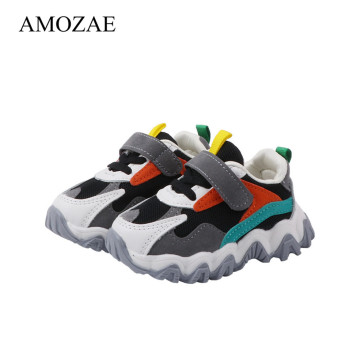 New Sport Children Shoes Kids Boys Sneakers Spring Autumn PU Leather Casual Girls Shoes Running Shoes For Kids kids shoes spring girls pu leather sneaker boy flats children shoes waterproof boots kids girls sneakers for girls trainers 838d