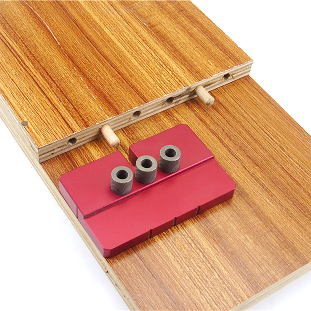 Aluminium Alloy Punch Locator Dowelling Jig Metric Dowel Drilling Tools Dowel Jig Hole Puncher Woodworking Tool
