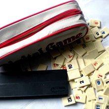 Передвижная портативная цифровая игра-головоломка Israel Mahjong, быстро движущаяся плитка Rummy, семейная Цифровая версия, классическая настольная игра