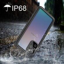 A51 IP68 su geçirmez telefon kılıfı için Samsung Galaxy S20 S20 artı S20 Ultra S10 S9 not 10 10 + 9 8 darbeye dayanıklı su geçirmez kılıf