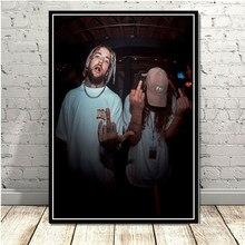 Plakat drukuje nowy $ UICIDEBOY $ muzyki Hip Hop raper Singer gwiazda obraz olejny na płótnie Art zdjęcia ścienny do salonu Home wystrój