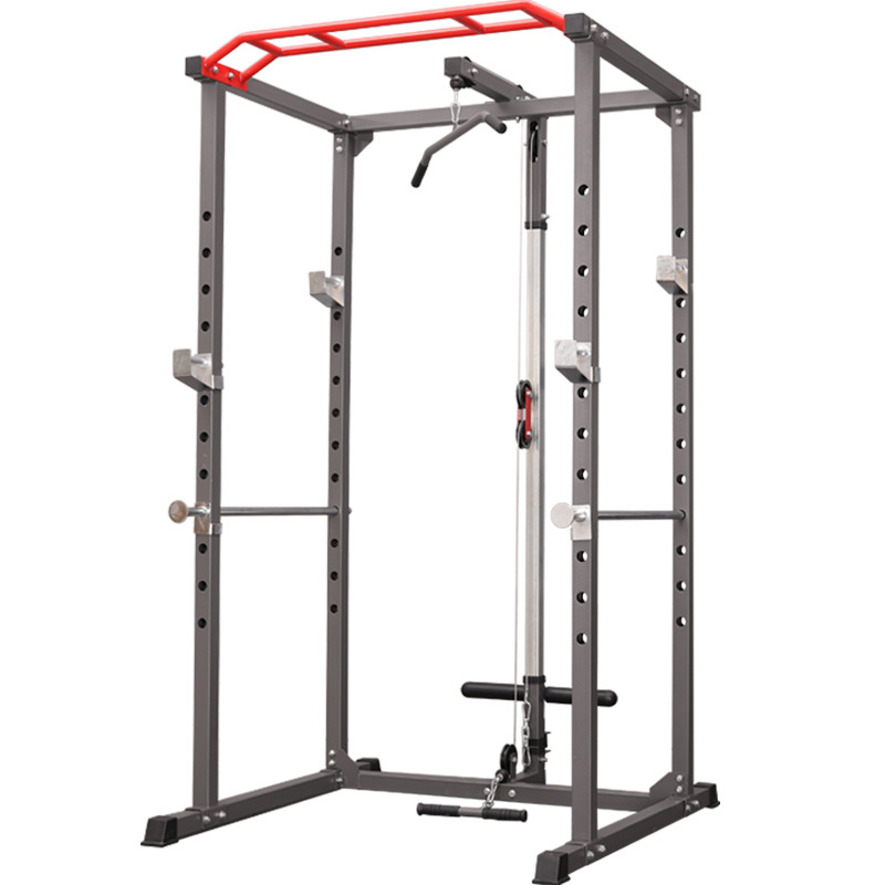 Multifunctional Household Squat Rack Frame Gantry Fitness Barbell Rack Bench Press Comprehensive Training Equipment Power Rack
