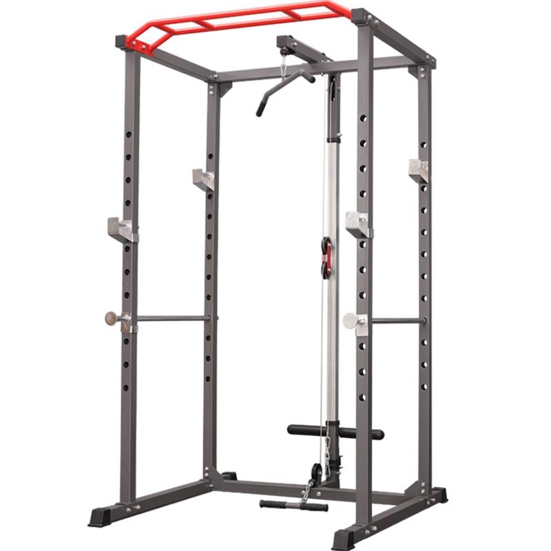 multifunctional household squat rack frame gantry fitness barbell rack bench press comprehensive training equipment power rack