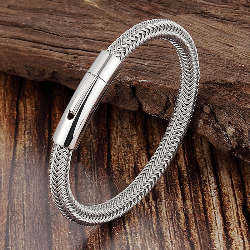 Bangle Viking Bracelet Armbanden Voor Vrouwen Steel Man Glamour Wire Magnet Pin Europe And The Sell Like Hot Cakes