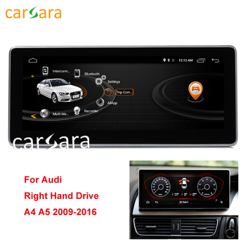 "2G RAM 10.25"" Android Monitor GPS Navigation For Right Hand Drive Audi A4 A5 2009-2016"