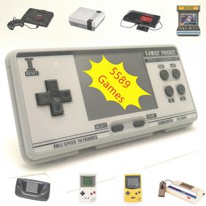 Game-Console Genesis-Support 8-Emulators Retro Built-In-Games Portable Handhled