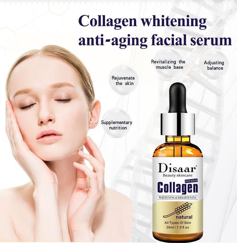 Высокий чистый гиалуроновой кислоты Сыворотки увлажняющий с коллагеном восстановления кожи отбеливающая эссенция крем для лица против мо...