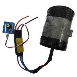 Universal Car turbina elektryczna Power Turbo Charger Tan Boost dopływ powietrza wentylator 12V w Sprężarki od Samochody i motocykle na